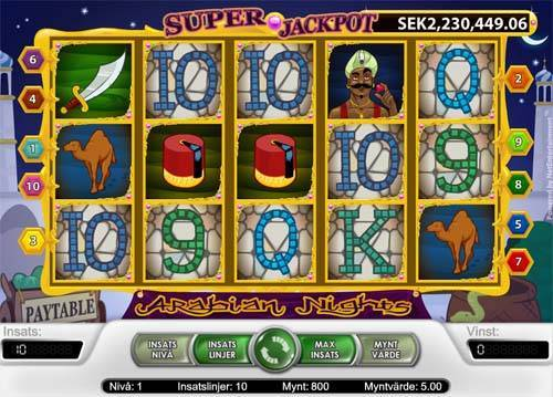 Arabian Nights free slot
