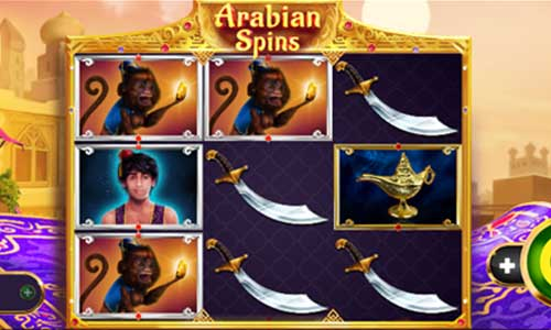 Arabian Spins free slot