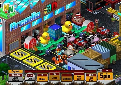Arcadia i3D free slot