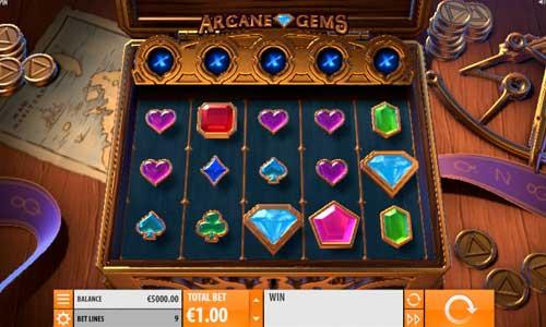 Arcane Gemswin both ways slot