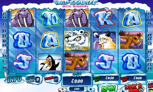 Wild Gambler Arctic Adventure free slot