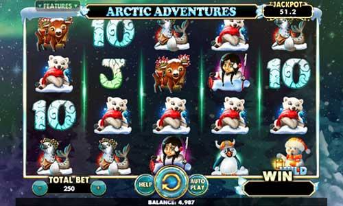 Arctic Adventures free slot