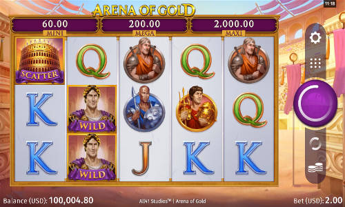 Arena of Gold free slot