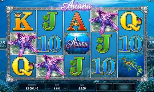 Ariana free slot
