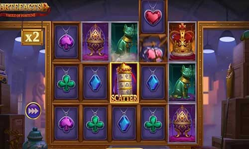 Artefacts Vault of Fortune free slot