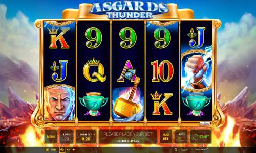 Asgards Thunder free slot