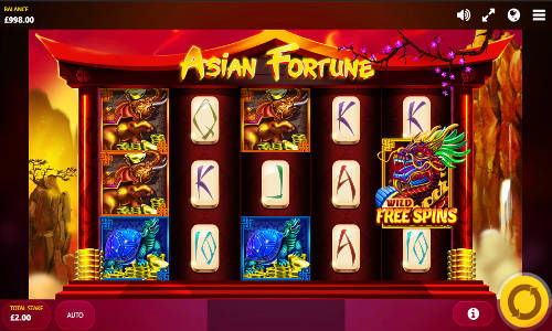 Asian fortune slot machine online red tiger gaming bux offline