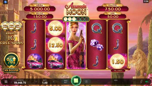 Assassin Moon free slot