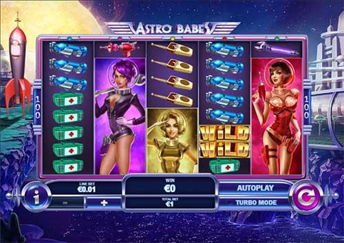 Astro Babes free slot