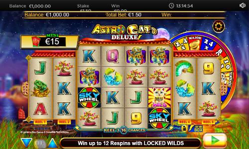 Astro Cat Deluxe free slot