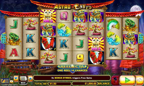 Astro Cat casino slot