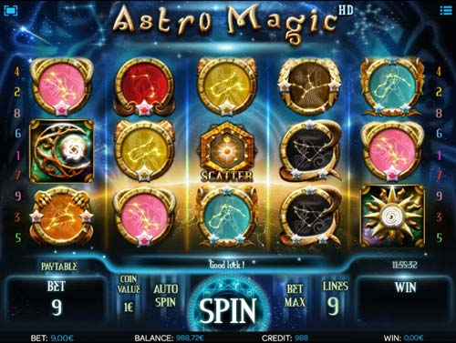 Astro Magic free slot