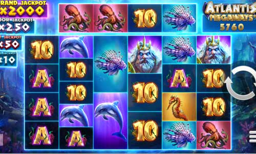 Atlantis Megaways casino slot