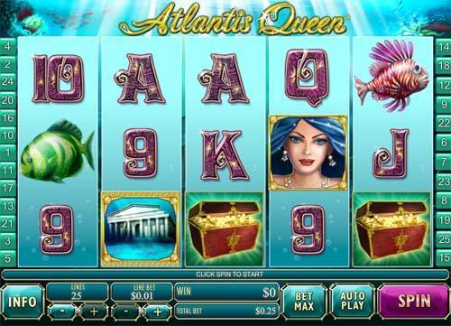 Atlantis Queen casino slot