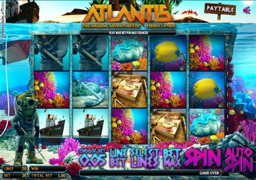 Atlantis free slot