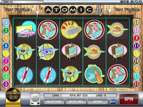 Atomic Age casino slot