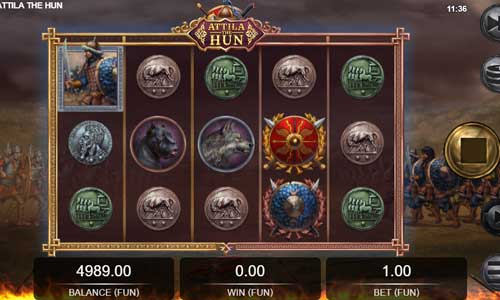 Attila the Hun free slot