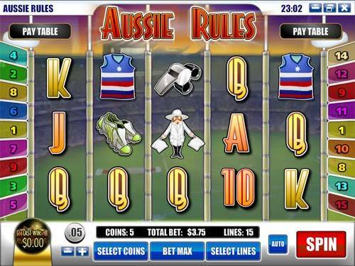 Aussie Rules free slot