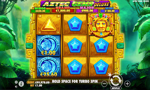 Aztec Gems Deluxe new slot