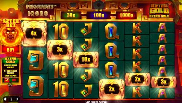 Aztec Gold Extra Gold Megawaysbuy feature slot