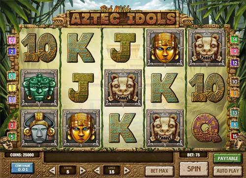 Aztec Idols free slot