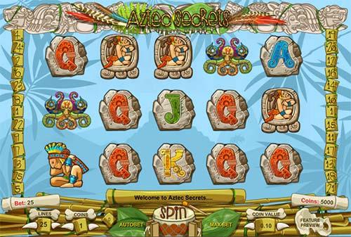 Aztec Secrets free slot