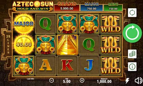 Aztec Sun free slot