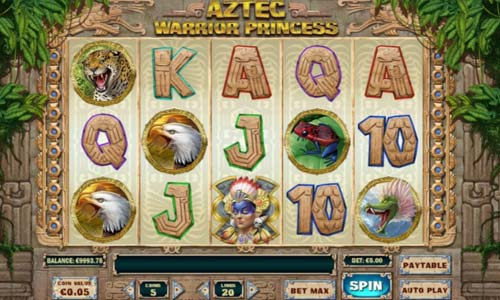 Aztec Warrior Princess free slot