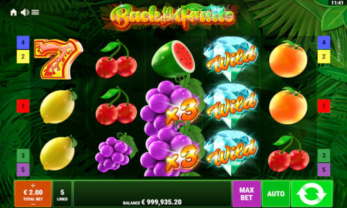 Back to the Fruits casino slot