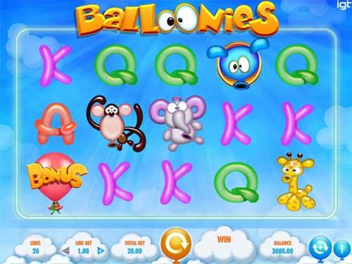 Ballonies free slot