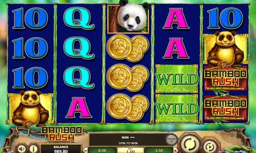 Bamboo Rush casino slot