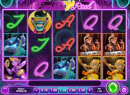 Banana Rock free slot
