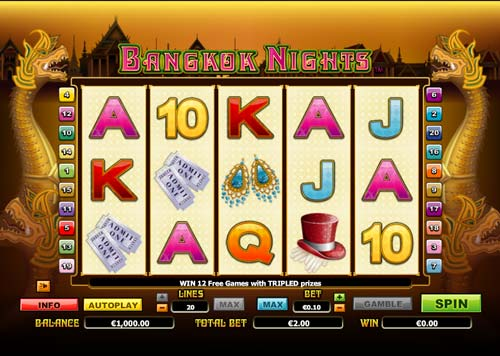 Bangkok Nights free slot