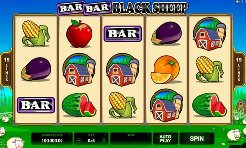 Bar Bar Black Sheep free slot