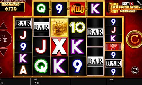 Bar X Safecracker Megawaysincreasing multiplier slot