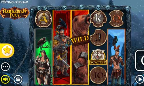 Barbarian Furybuy feature slot