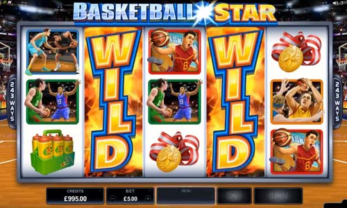 Basketball Star free slot
