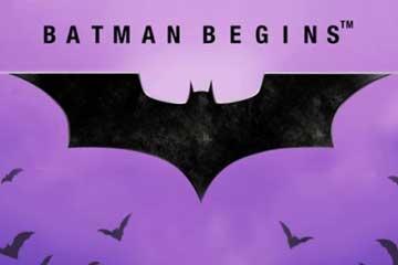 Batman Begins slot Playtech