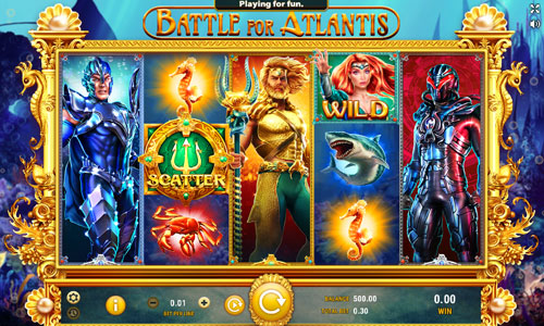 Battle for Atlantis free slot