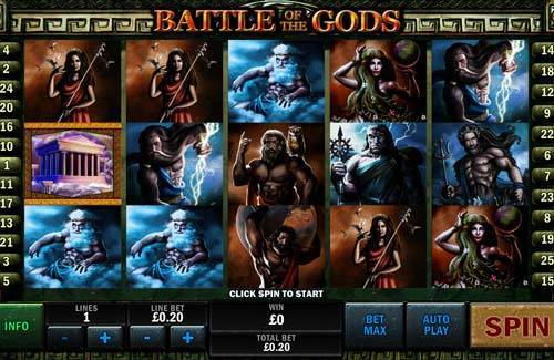 Battle of the Gods free slot