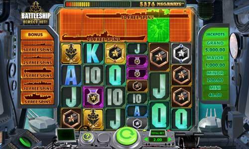 Battleship Direct Hit free slot