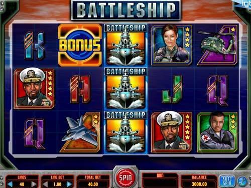 Battleship free slot