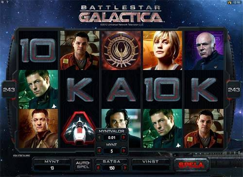 Battlestar Galactica free slot