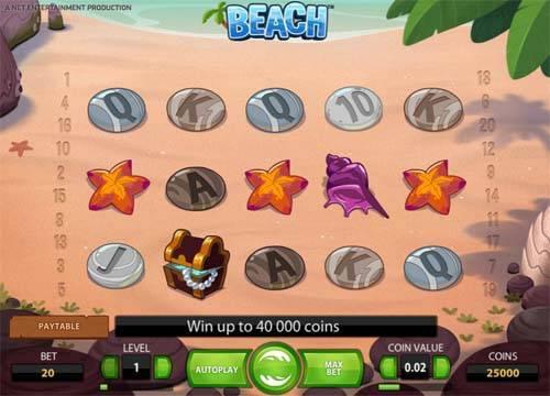 Beach free slot
