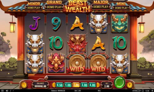 Beast of Wealth free slot