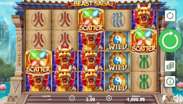 Beast Saga free slot