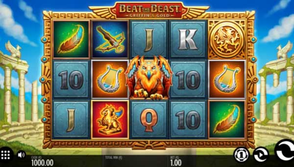 Beat the Beast Griffins Goldincreasing multiplier slot