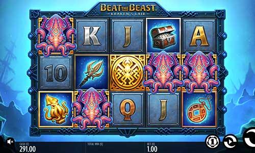 Beat the Beast Krakens Lair free slot