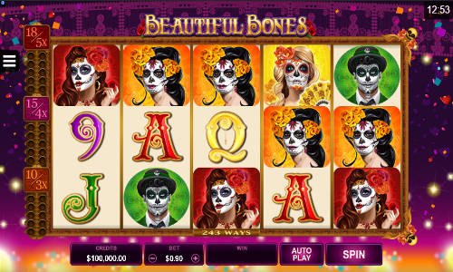 Beautiful Bones free slot