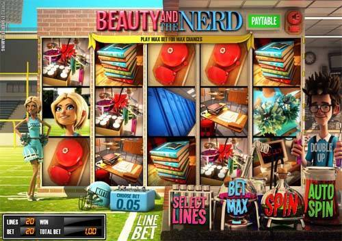 Beauty and the Nerd free slot